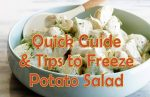 can-you-freeze-unopened-potato-salad
