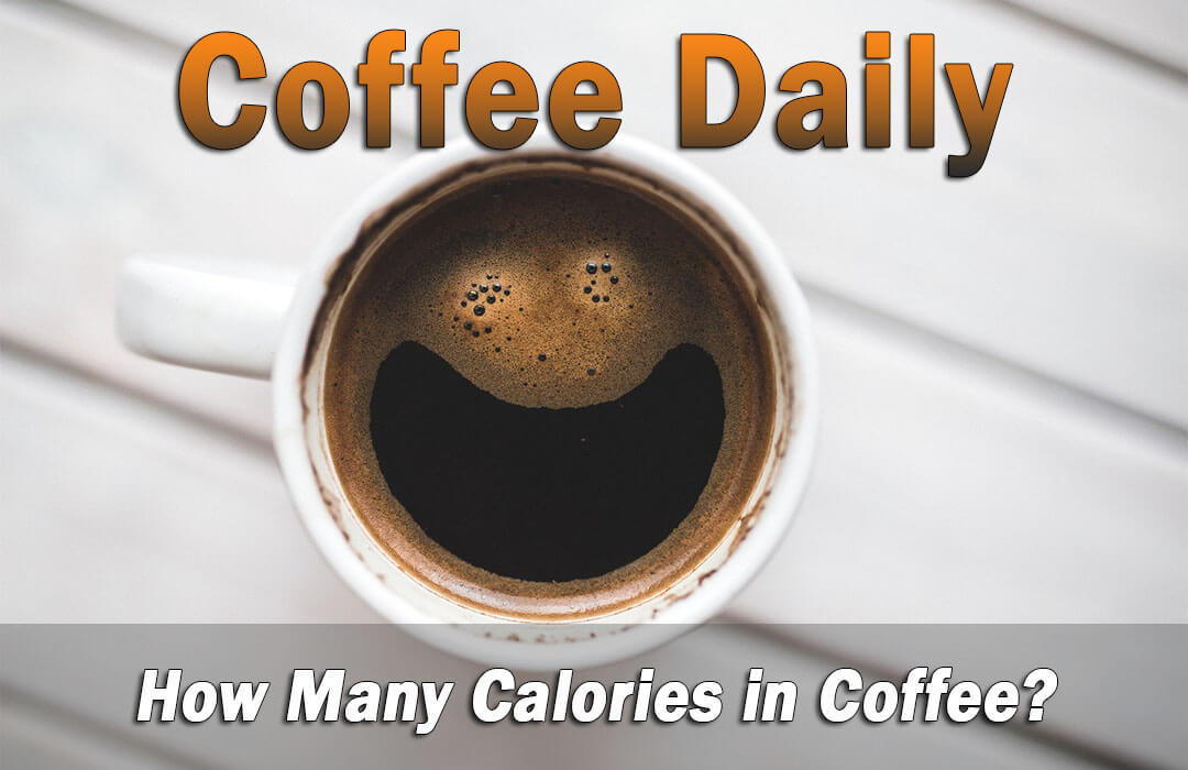 calories in a cup of black coffee