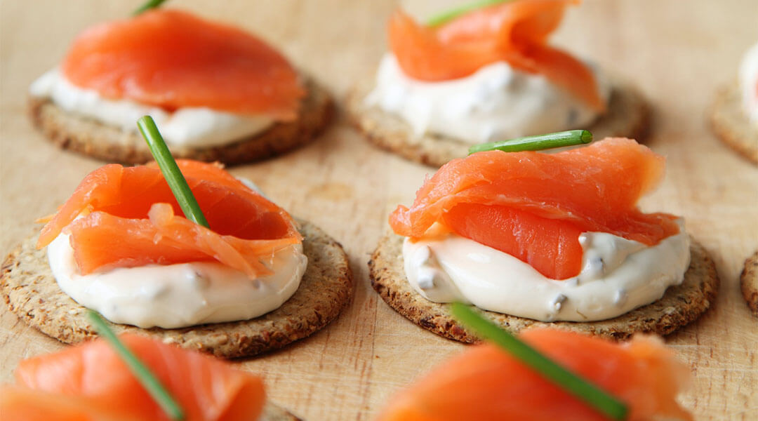 The a to z culinary terms every chef must know for Canape de salmon ahumado